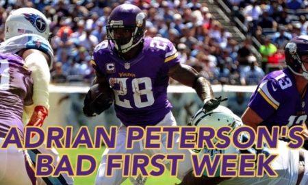 Chris Spielman on Adrian Peterson's Slow Week 1