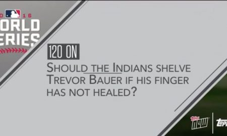 Should Trevor Bauer play in the World Series
