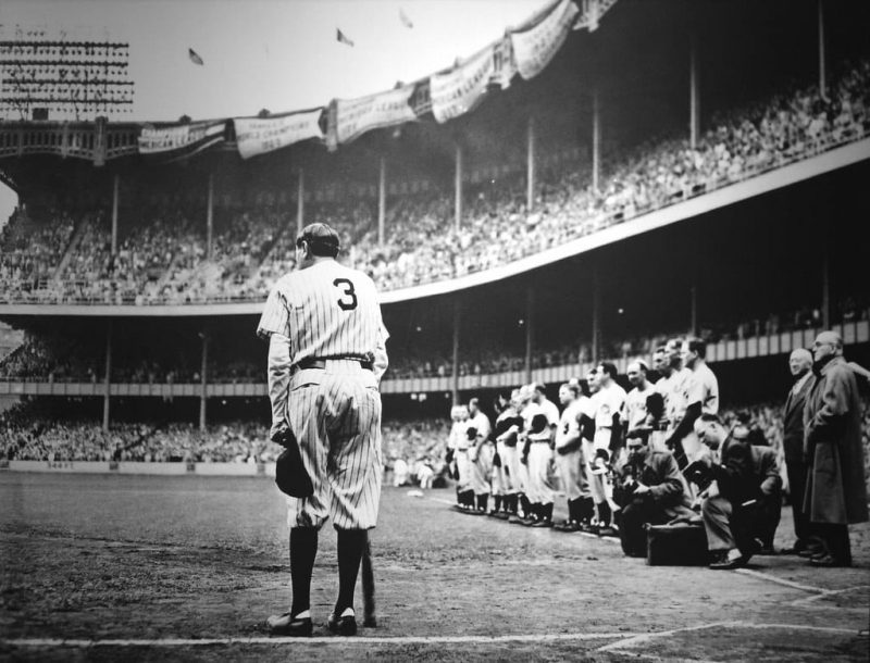 Babe Ruth: Hero in Death As in Life