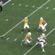 West Virginia quarterback backward pass