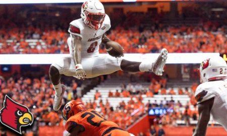 Watch Lamar Jackson Hurdle a Syracuse Defender