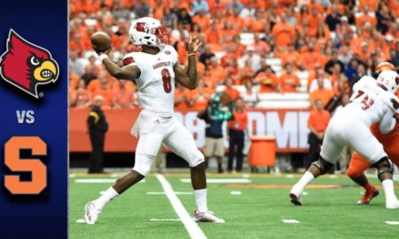 Louisville vs. Syracuse Football Highlights