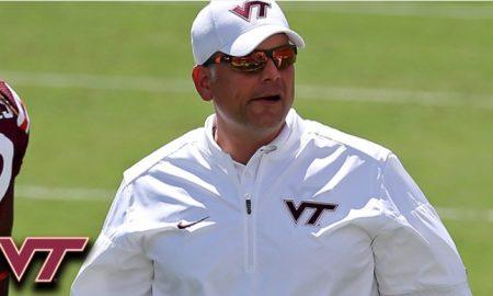 Virginia Tech head coach Justin Fuente
