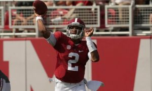 Jalen Hurts Leads Alabama Past Western Kentucky