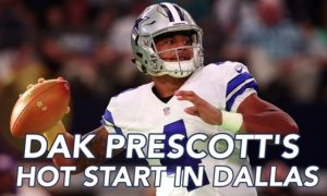 Troy Aikman on Dak Prescott's Debut