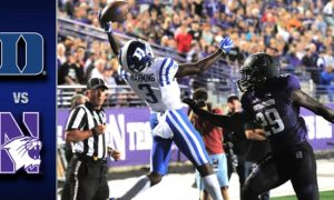 Duke vs. Northwestern Football Highlights