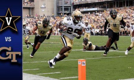Georgia Tech vs. Vanderbilt Football Highlights