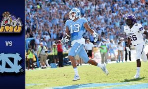 North Carolina vs. James Madison Football Highlights