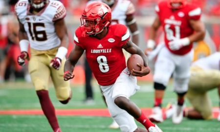 Lamar Jackson Gives Himself A 'D' vs. FSU