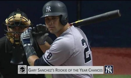 Is Gary Sanchez the Rookie of the Year