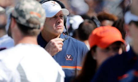 Bronco Mendenhall on task ahead with Virginia