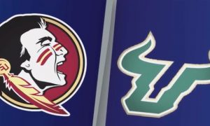 FSU vs USF Football Highlights