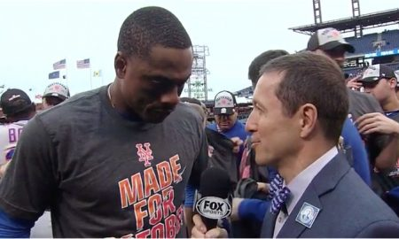 Curtis Granderson on Mets Wild Card berth