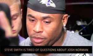Steve Smith is tired of questions about Josh Norman