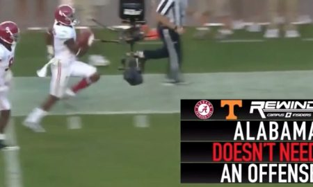 Alabama defense vs Tennessee