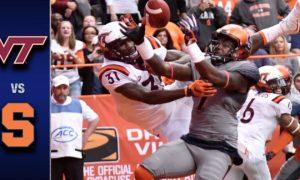 Virginia Tech vs Syracuse Football Highlights