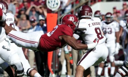 Jonathan Allen Sack Against Texas A&M