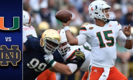 Miami vs Notre Dame Football Highlights