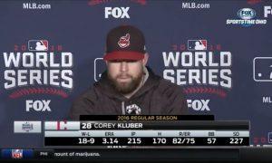 Corey Kluber Pregame routine
