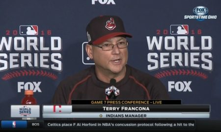 Terry Francona on starting Rajai Davis over Tyler Naquin