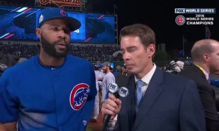 Jason Heyward World Series interview