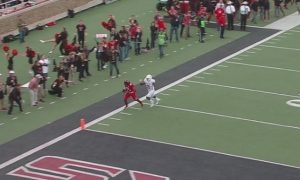 Texas Tech touchdown