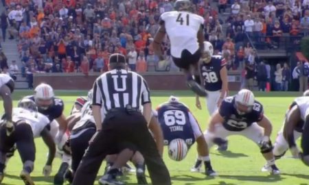 Zach Cunningham blocked field goal