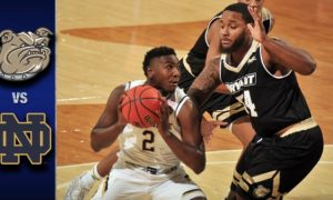 Notre Dame vs Bryant Basketball Highlights