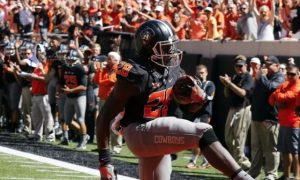 Oklahoma State game winning pass against Texas Tech