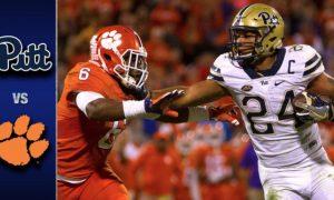 Pitt vs Clemson Football Highlights
