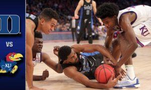 Duke vs Kansas Basketball Highlights