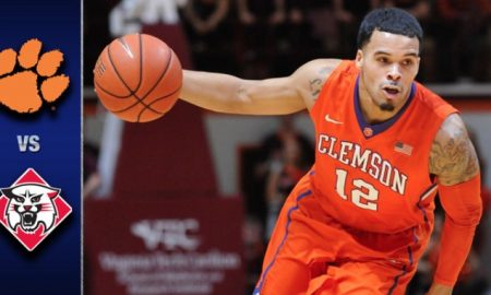 Clemson vs Davidson Basketball Highlights