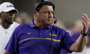 Ed Orgeron officially named LSU head coach