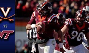 Virginia vs Virginia Tech Football Highlights
