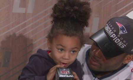 Martellus Bennett daughter press conference