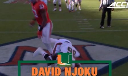David Njoku NFL Draft Tape