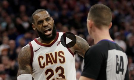 Is LeBron James Too Concerned About Officiating